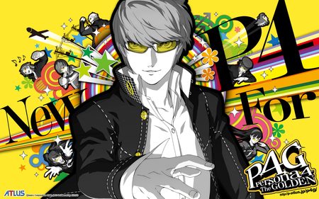 Persona 4 - The Golden - the golden, persona, persona 4, smt, ps vita, p4, shin megami tensei