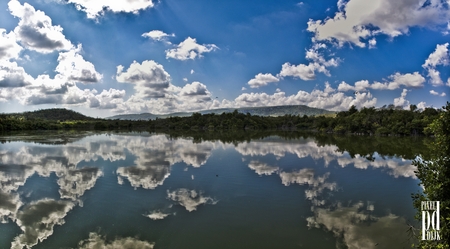 clouids-and-water. - nature, reflections, clouds, sky, lake