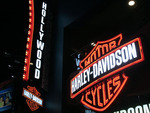 Harley Davidson Hollywood.