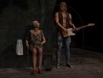 Guitar-Player in Underground-Station