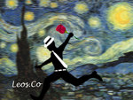 Paint Runner (Starry Night)