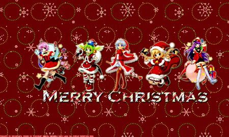 Chibi Christmas Other Entertainment Background Wallpapers On