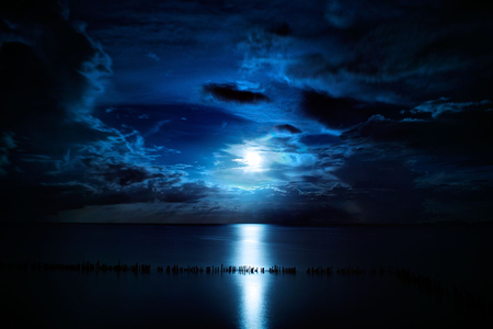 midnight blue sky nature background wallpapers on desktop nexus