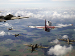 Red Tails  Boeing B-17 Flying Fortress Bomber Escort