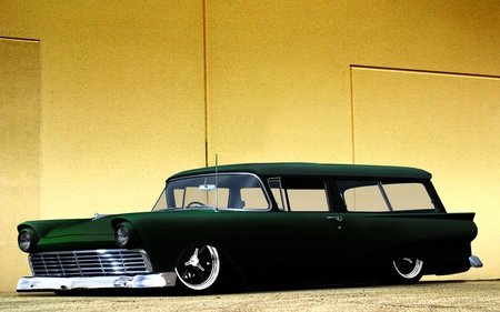 Ford Ranch Wagon - ranch, hot, street, car, custom, rod, classic, hotrod, vintage, wagon, antique, ford
