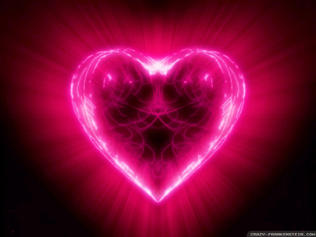 Neon Heart - Other & Abstract Background Wallpapers on ...