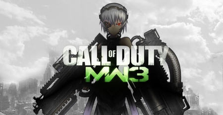 Anime MW3 - warfare, modern, girl, anime