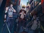 Uchiha Sasuke, Uzumaki Naruto, & Inuzuka Kiba