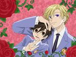 ouran high school host club - tamaki suoh and haruhi fujioka