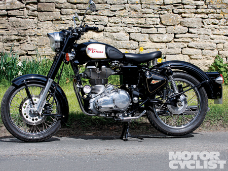 Royal Enfield Bullet Classic - motorcycle, bullet, enfield, cycle, royal, classic, vintage, bike, antique, motor