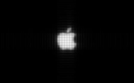 Apple Logo Tiles - computer, apple, tile, tiles, shiny