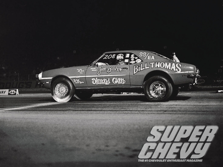 Super Chevy Drag Racing Greats - gm, racer, car, bowtie