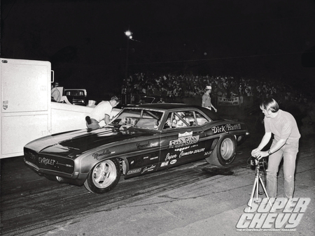 Super Chevy Drag Racing Greats - gm, drag race, pipes, funny car