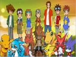Digimon Protagonist Main Hero