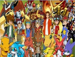 Digimon protagonists main digi mega level