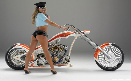 smoking hot - motorcycle, bike, harley, chopper
