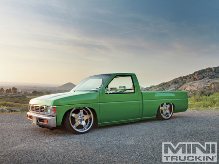 Ironsled - 1992, lowered, truck, green