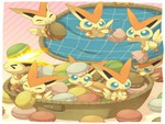 a basket of Macaron's for Victini's day