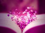 Violet heart