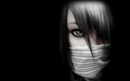 Emo Ninja - emo, people, wallpaper, ninja, picture