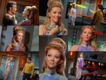 Actress Kathie Browne as Deela from the Star Trek Episode Wink of an Eye