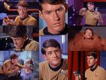 Actor Bruce Hyde as Lt. Kevin Thomas Riley from the Star Trek Episodes The Naked Time and Conscience of The King
