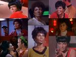 Actress Nichelle Nichols as Lt. Nyota Uhura from Star Trek The Original Series