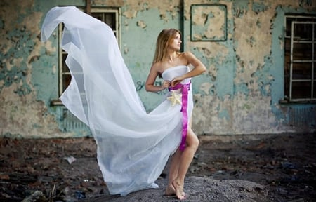 Sexy girl in white dress - pretty, pretty girl, beautiful, elegance, seductive, people, phtography, hot, beauty, glamour, photo, female, model, lovelt, sexy, hottests, girl, sexy girl, portrait, fashion