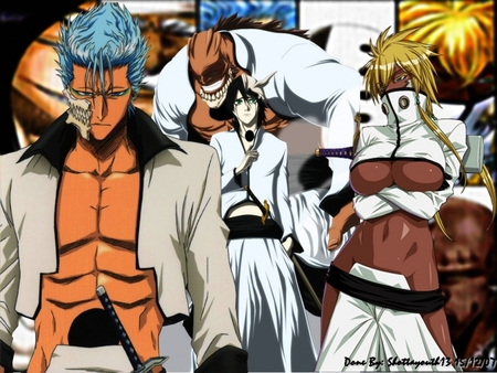 Espada 10 6 4 3 bleach anime background wallpapers on - Bleach espadas ...