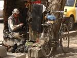 sidewalk shoemaker