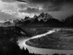 River by ansel adams