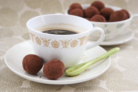 sweets for caramelie - delicious, truffles, sweets, coffee
