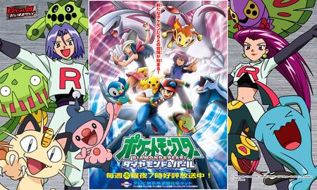 Pokemon Diamond Pearl Pokemon Anime Background