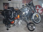 '01 Heritage and '08 chopper