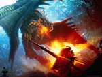 Dragon fight_knight