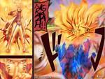 Naruto's Tailed Beast Mode Vs Bijuu