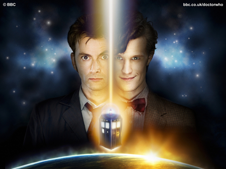 Doctor Who - ten, doctor who, david tennant, eleven