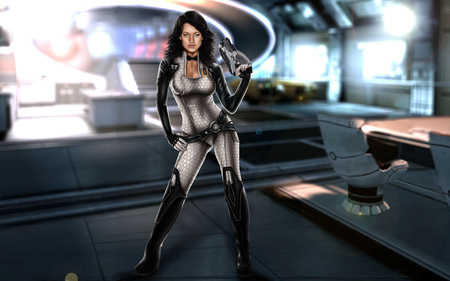 Miranda Lawson - game girl, hot, miranda lawson, mass effect 2