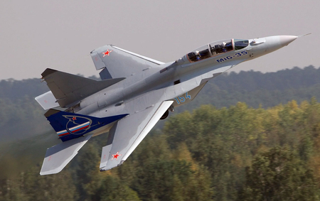 Mig-35 - mig 35, mig, russian air force, jet fighter