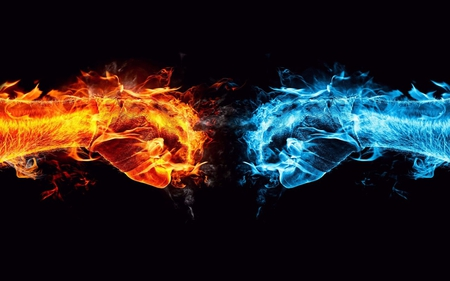 Fire vs Ice - mame, mufe, lemu, ozi