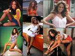 Actress Catherine Bach as The Original Daisy Duke