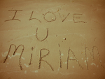 For the love of Miriam