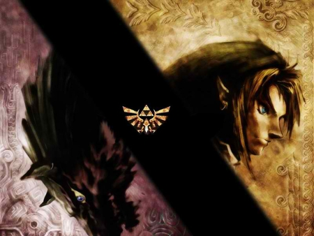 Link Wolf Twilight Princess Zelda Video Games Background