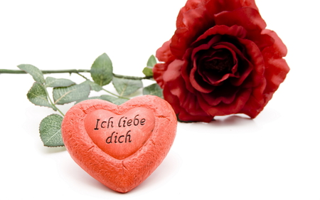 ich liebe dich - ove, valentines, i love you, rose