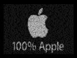 100 percents Apple