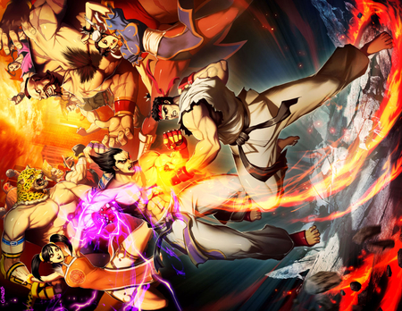 Street Fighter Vs Tekken Tekken Video Games Background Wallpapers On Desktop Nexus Image 971719