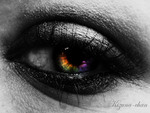 Dark Rainbow Eye
