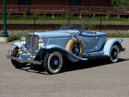 Auburn Eight Boattail Speedster - convertible, luxury, auburn, car, boattail, elegant, classic, speedster, vintage, 8, antique, eight