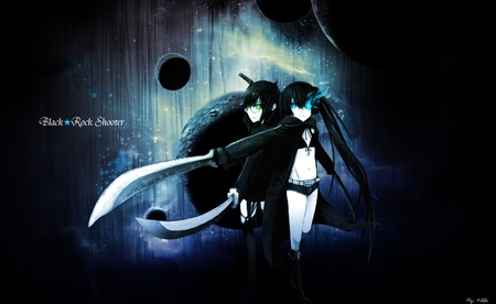 Black rock shooter - dead, rock, anime, shooter, black, master