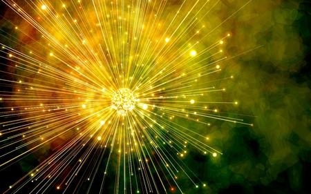 rasta burst - firework, burst, rasta, yellow